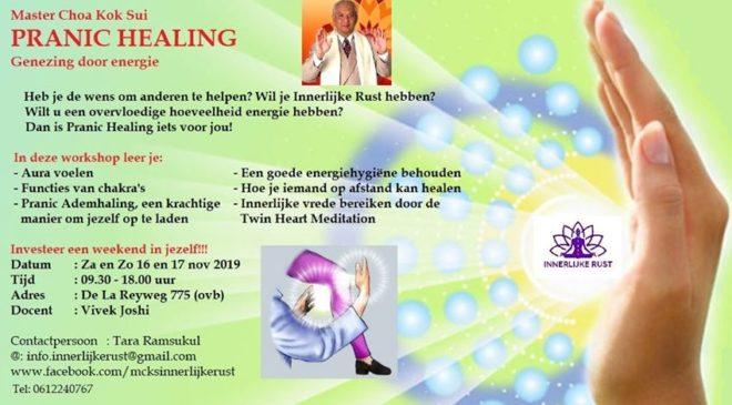 Workshop Pranic healing