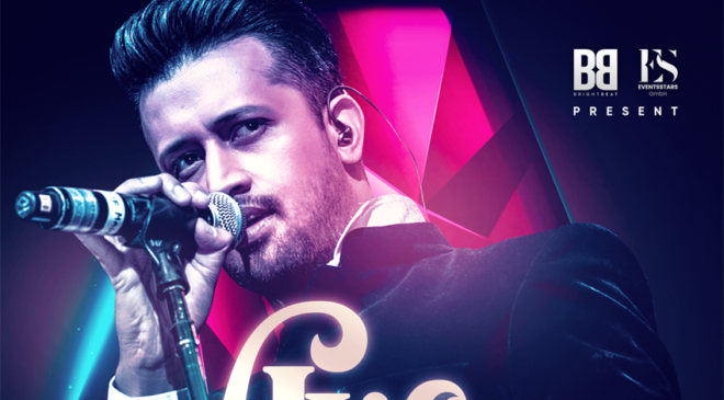 Atif Aslam European kick off tour in Ahoy Rotterdam