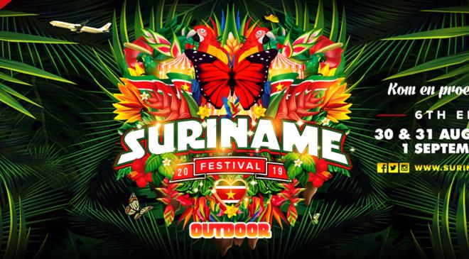 Aankondiging data Suriname Festival 2019